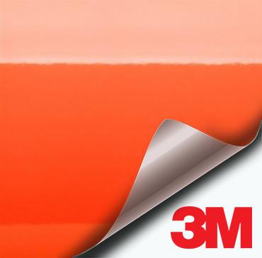 3M Gloss Bright Orange vinyl wrap