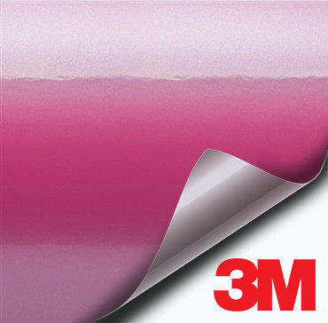 3M Gloss Hot Pink vinyl wrap