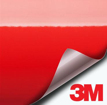 3M Gloss Hot Rod Red vinyl wrap