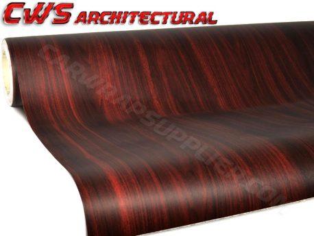 dark wood architectural wood grain vinyl wrap