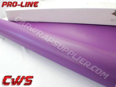 Purple Carbon Fiber Car Wrap Vinyl Film