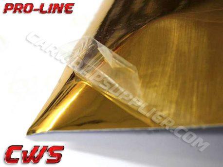 Standard Gold Chrome Vehicle Vinyl Film