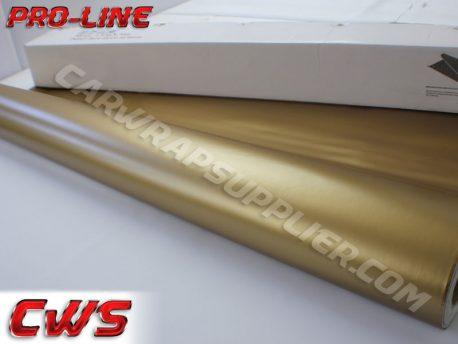 Gold Matte Car Wrap Vinyl Film
