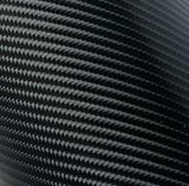 Economy Glossy 4D Carbon Fiber Black Vinyl Film