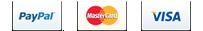 PayPal | Visa | MasterCard