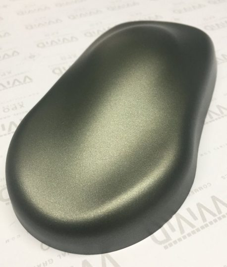 Premium Plus Matte Metallic Military Green Ghost car wrap vinyl film