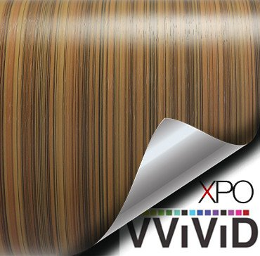 striped maple architectural wood grain vinyl wrap