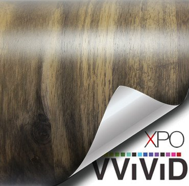 mountain oak architectural wood grain vinyl wrap