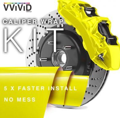 Caliper Wrap Enamel Vinyl Film