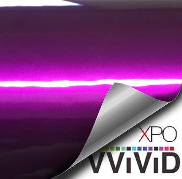 Liquid Metal Purple vinyl wrap