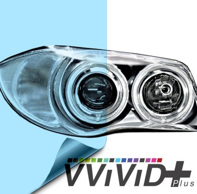 Blue Headlight Tint for cars