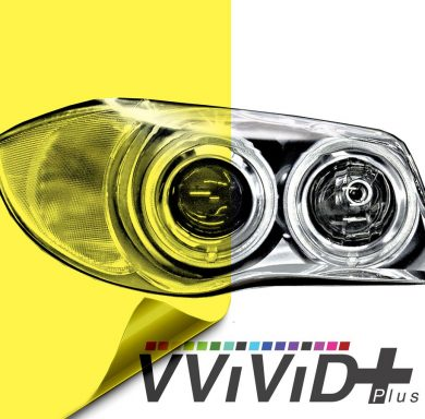 Yellow Headlight Tint for cars
