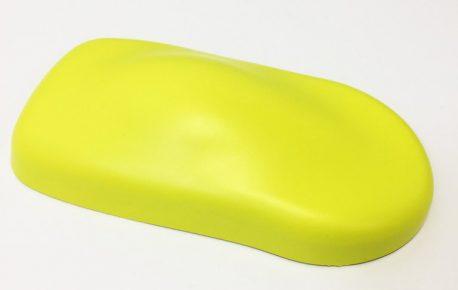 Premium Plus Matte Metallic Daytona Yellow car wrap vinyl film