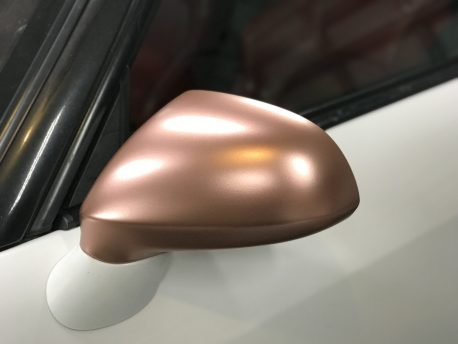 Premium Plus Matte Metallic Rose Gold car wrap vinyl film