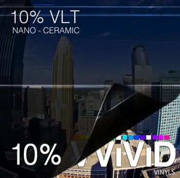 Window Tint for Cars 10% VLT