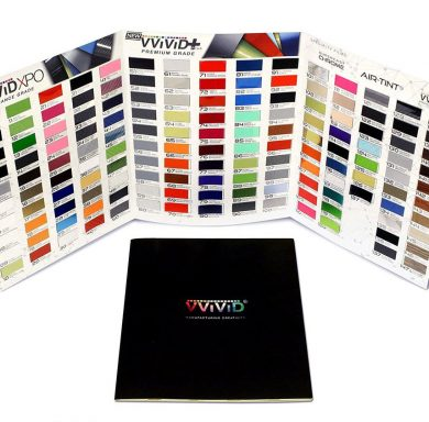Vinyl Wrap Sample Booklet - Pro-line XPO and Premium Plus
