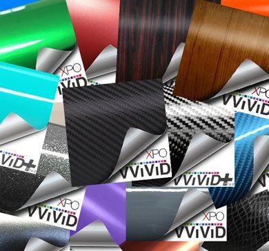 CWS Vinyl Wrap Sample Swatches